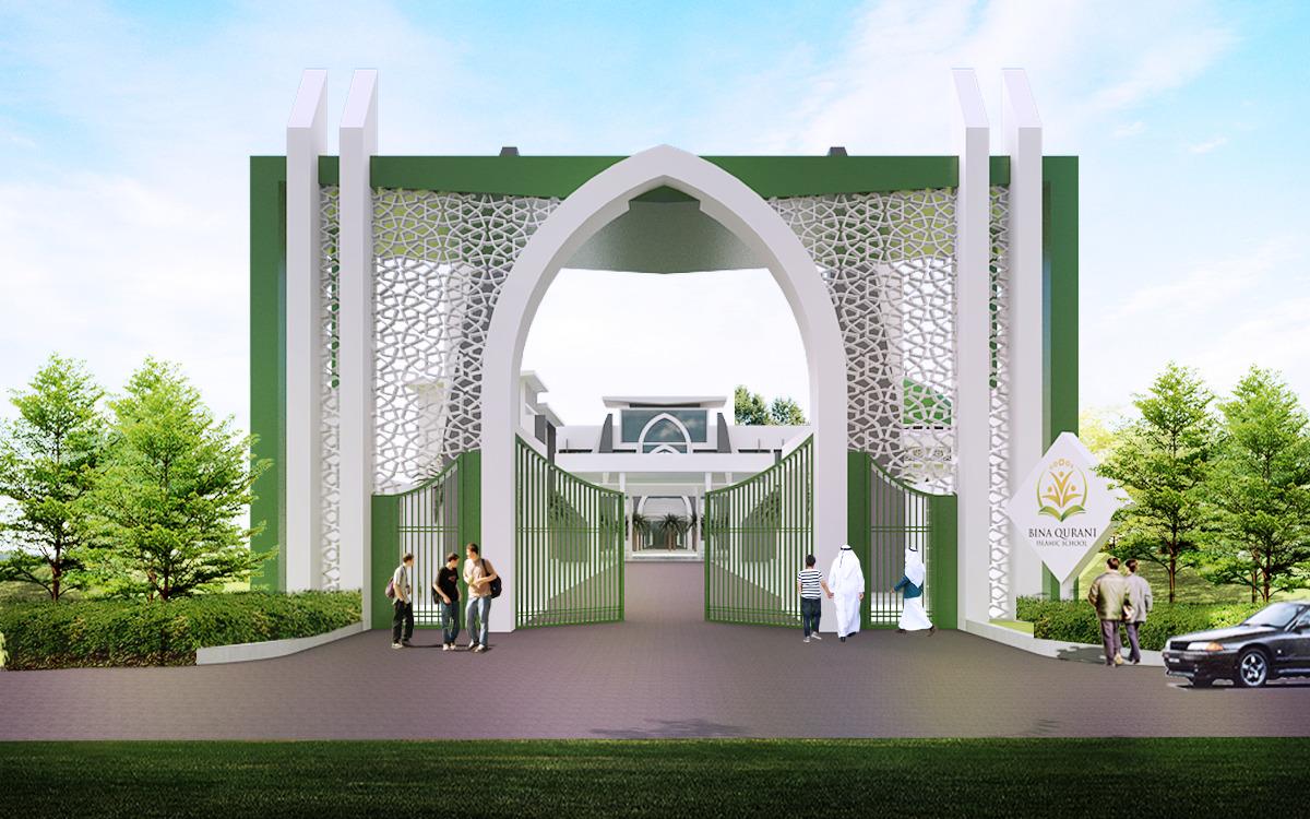 Bangunan Bina Qurani - Gerbang 02